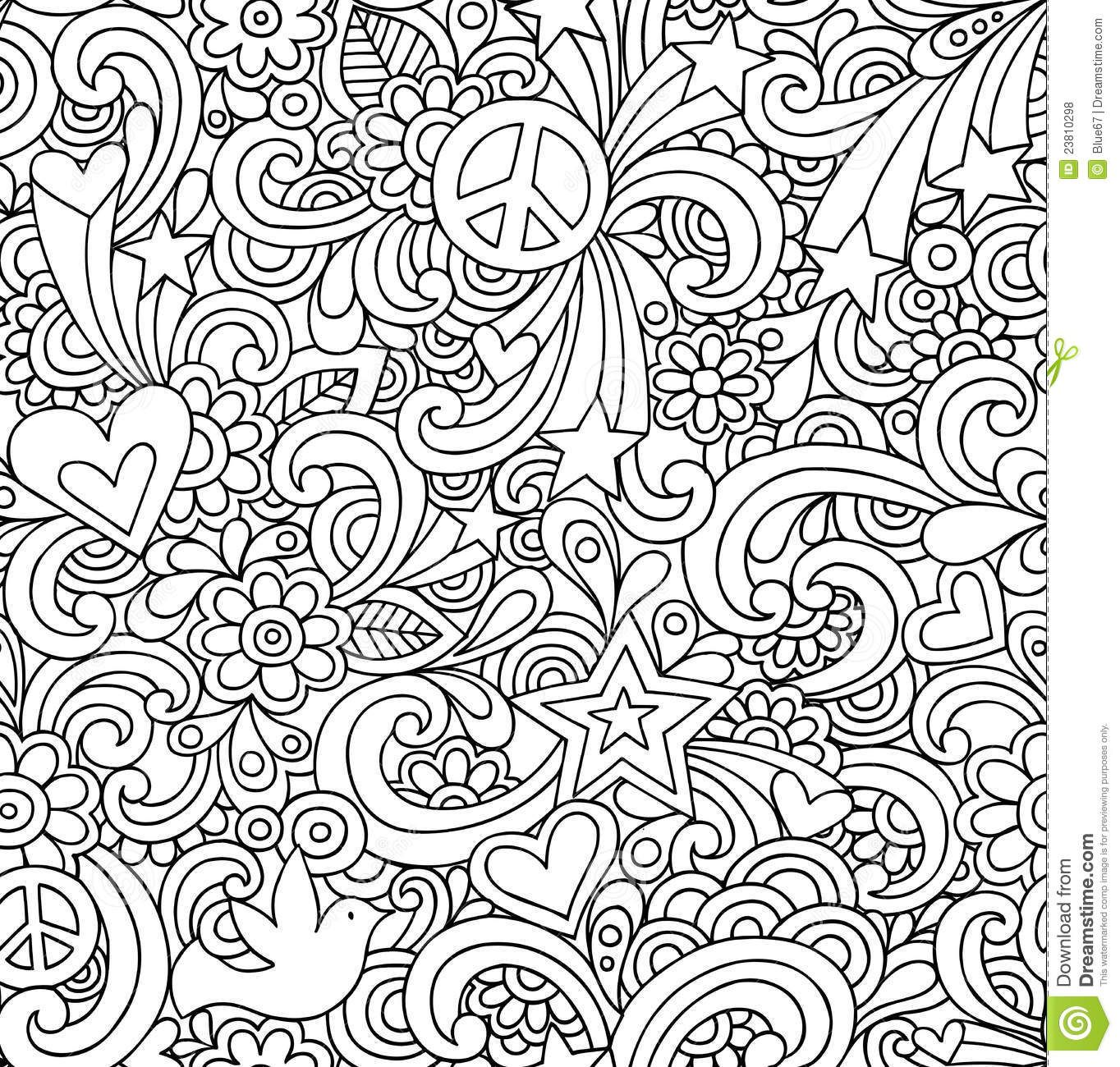"""Icolor """"love"""" Psychedelic Peace 