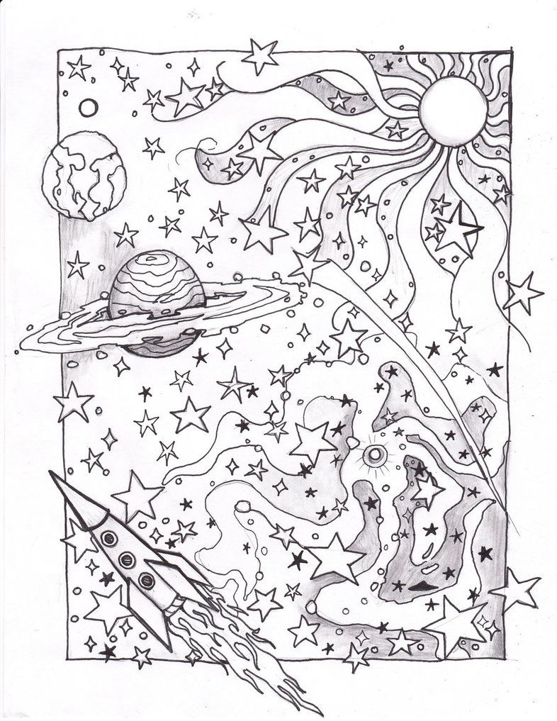 Solar System Coloring Pages! | Educational Coloring Pages