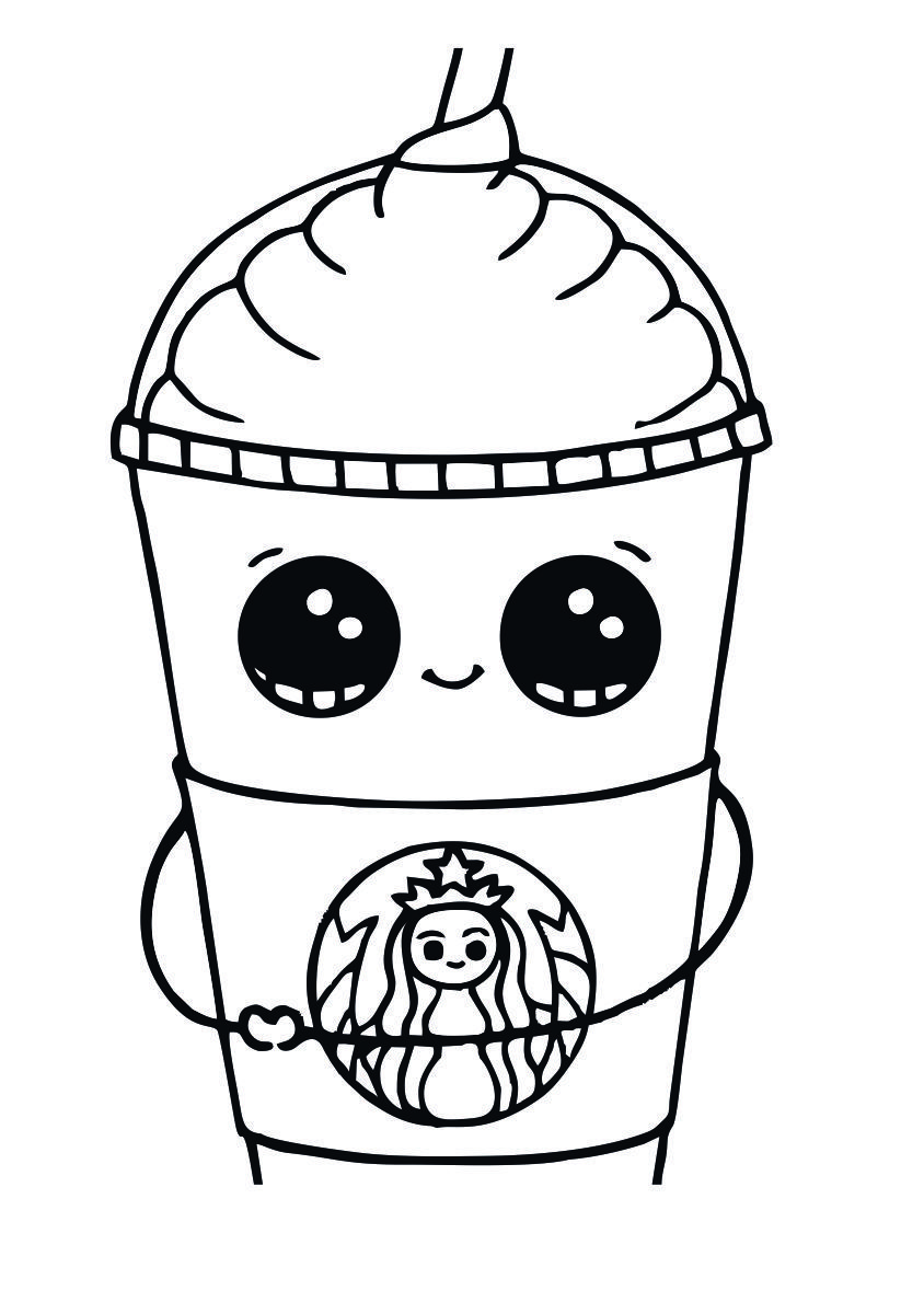 Starbucks Coloring Pages To Print | Chase | Coloring Pages