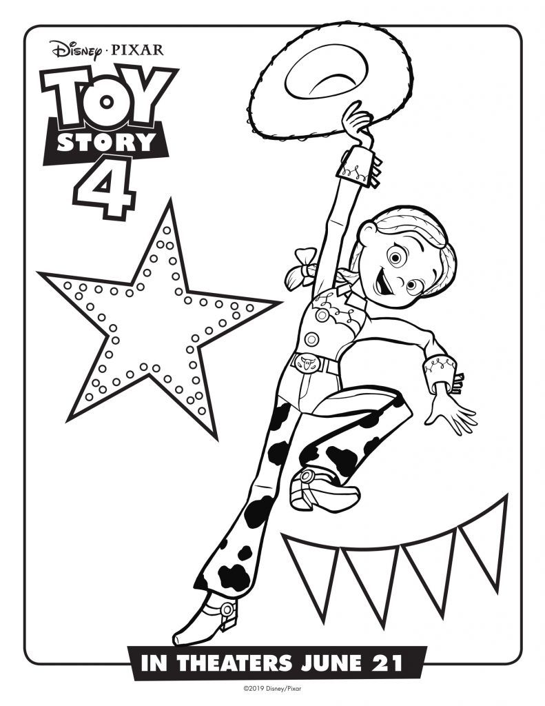 Toy Story 4 Coloring Pages | Movies And Tv Show Coloring