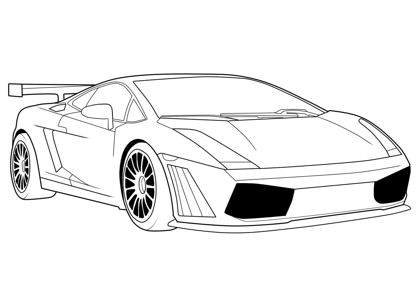 Car Coloring Pages Ideas For Kid And Teenager   Coloring