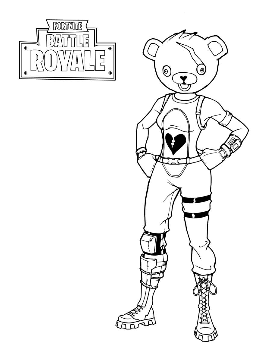 Fortnite Coloring Book For Kids And Adults | Pictures To