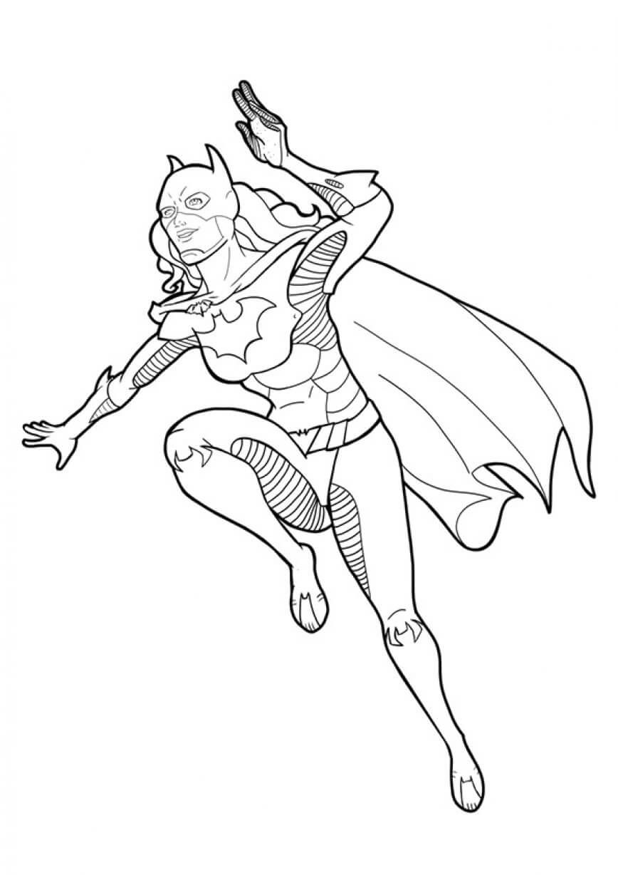 Nightwing Superhero Coloring Pages | Novo | List