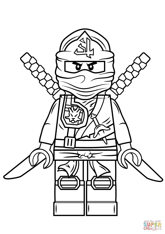 Lego Ninjago Green Ninja   Super Coloring   Party Ideas