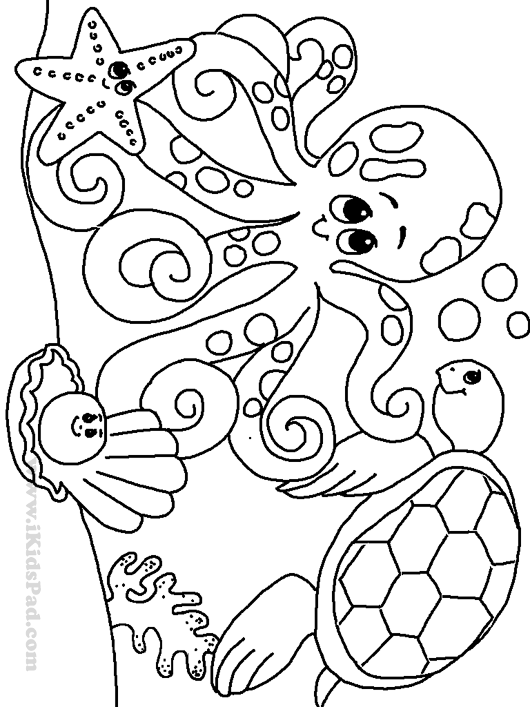 Free Printable Ocean Coloring Pages For Kids, Coloring Pages