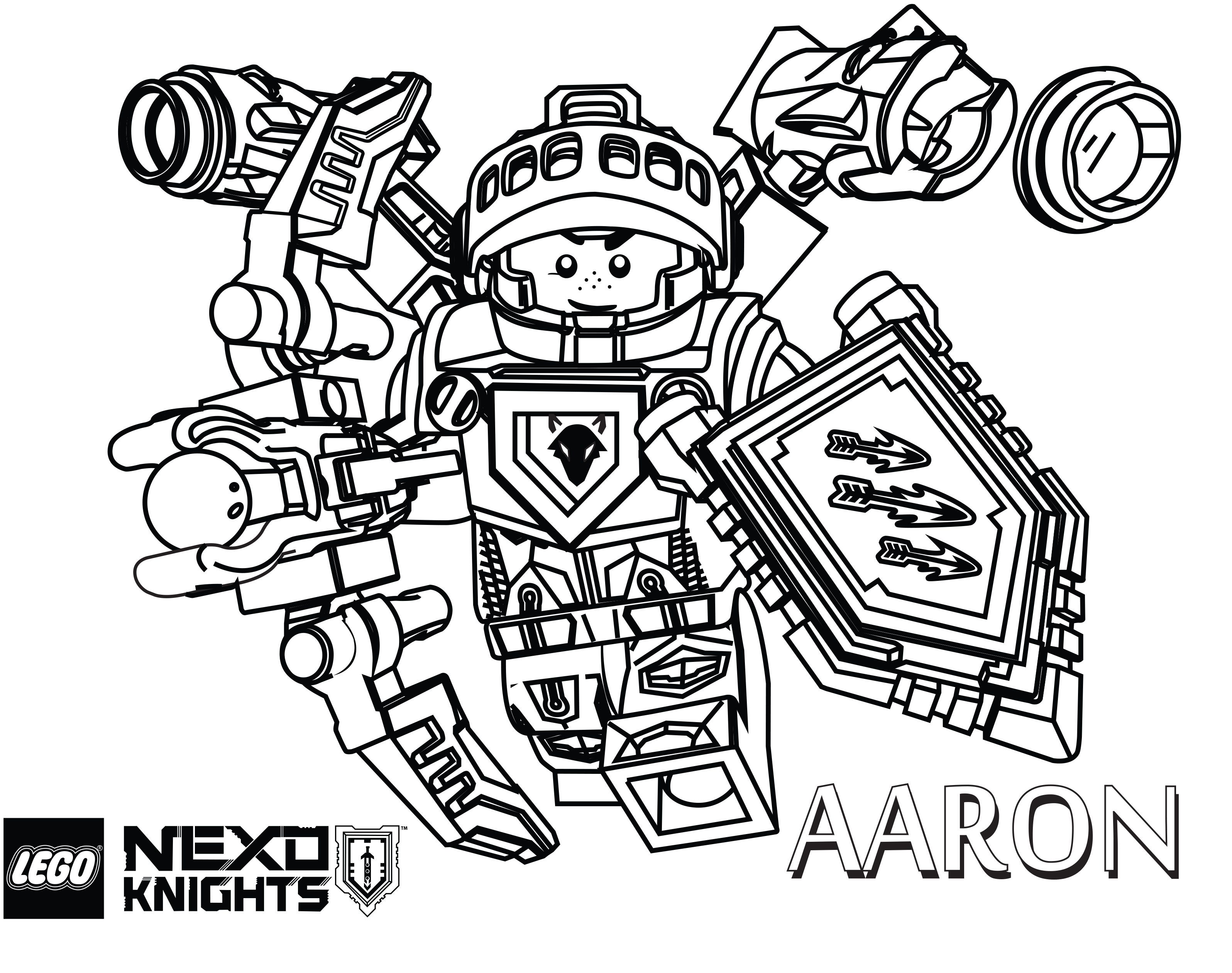 B>nexo Knights Coloring Pages</b> | Lego Coloring Pages