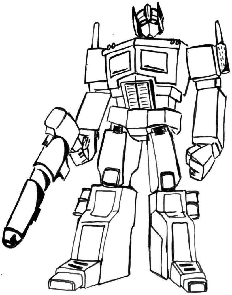Transformers Coloring Pages | Movies And Tv Coloring Pages
