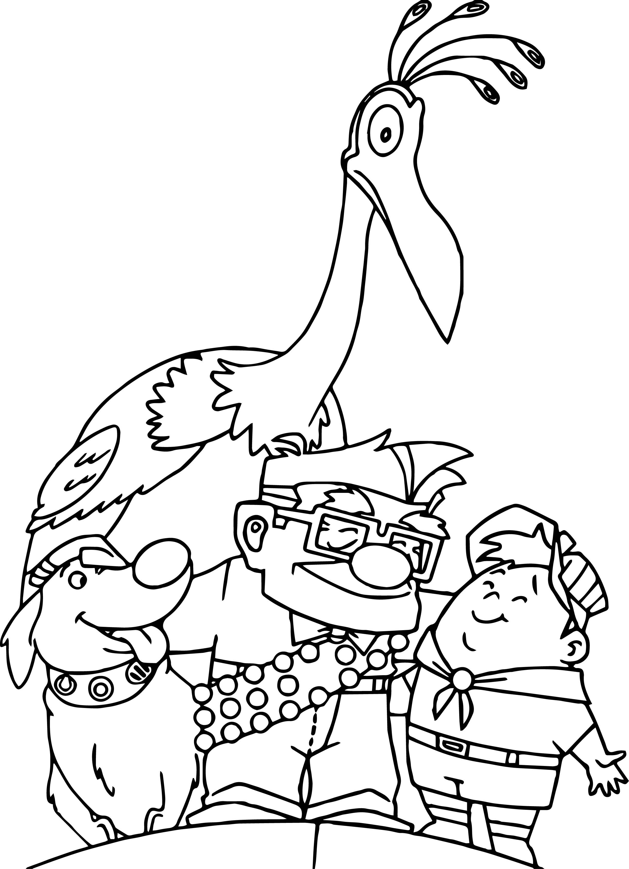 Disney Pixar Up Coloring Pages | Disney Coloring Pages