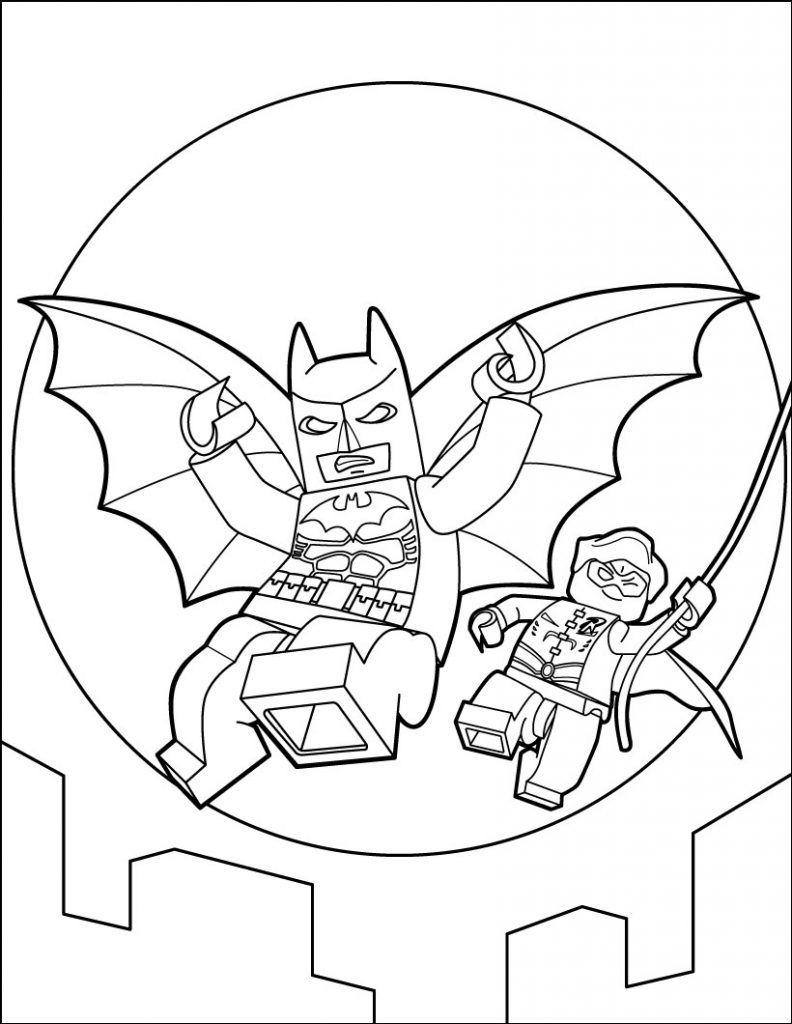 Lego Batman Coloring Pages   Lego Coloring, Lego Coloring