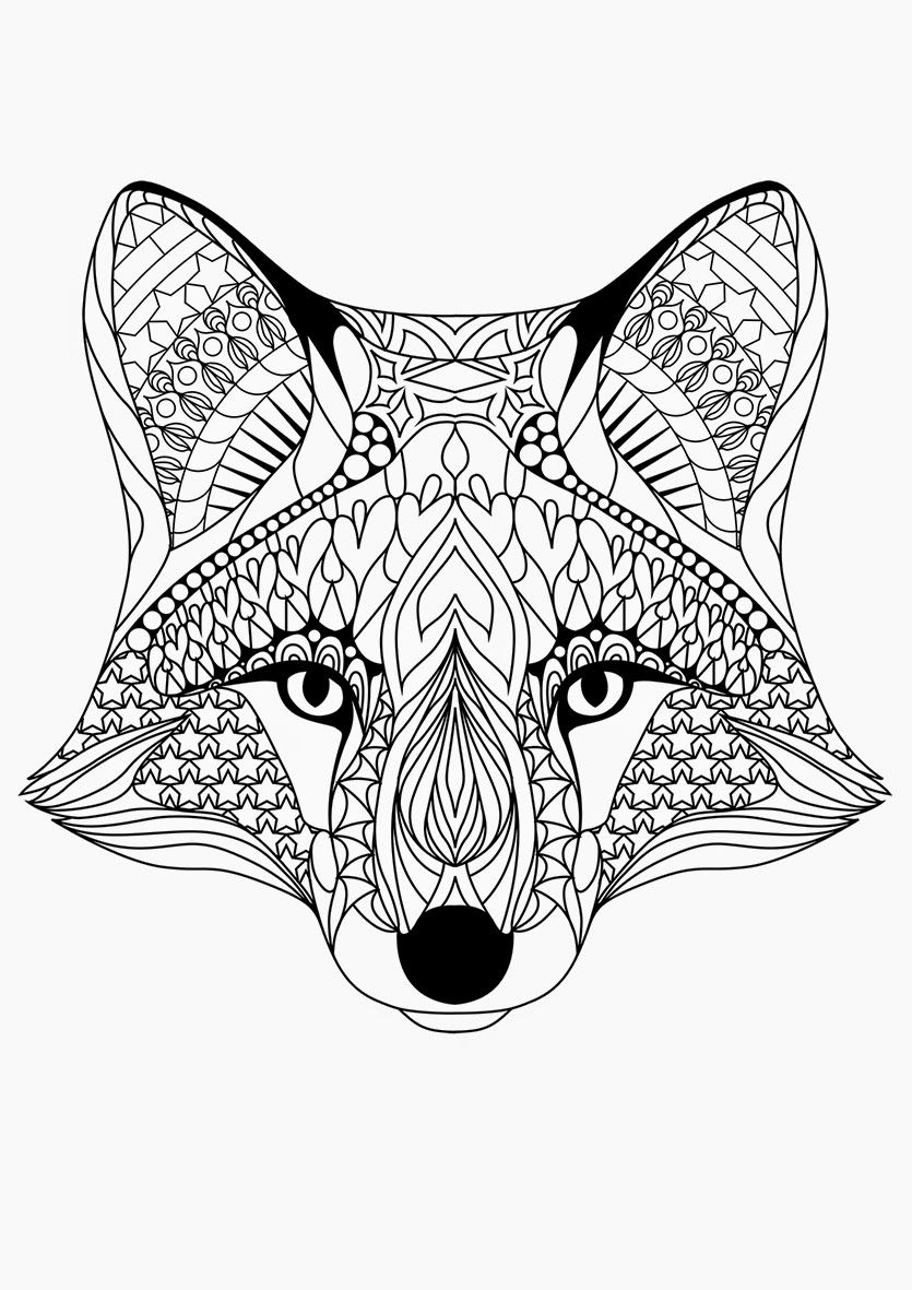 Free Printable Coloring Pages For Adults {12 More Designs
