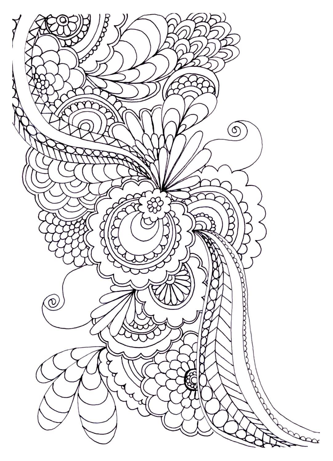 To Print This Free Coloring Page â«coloring-adult-zen-anti