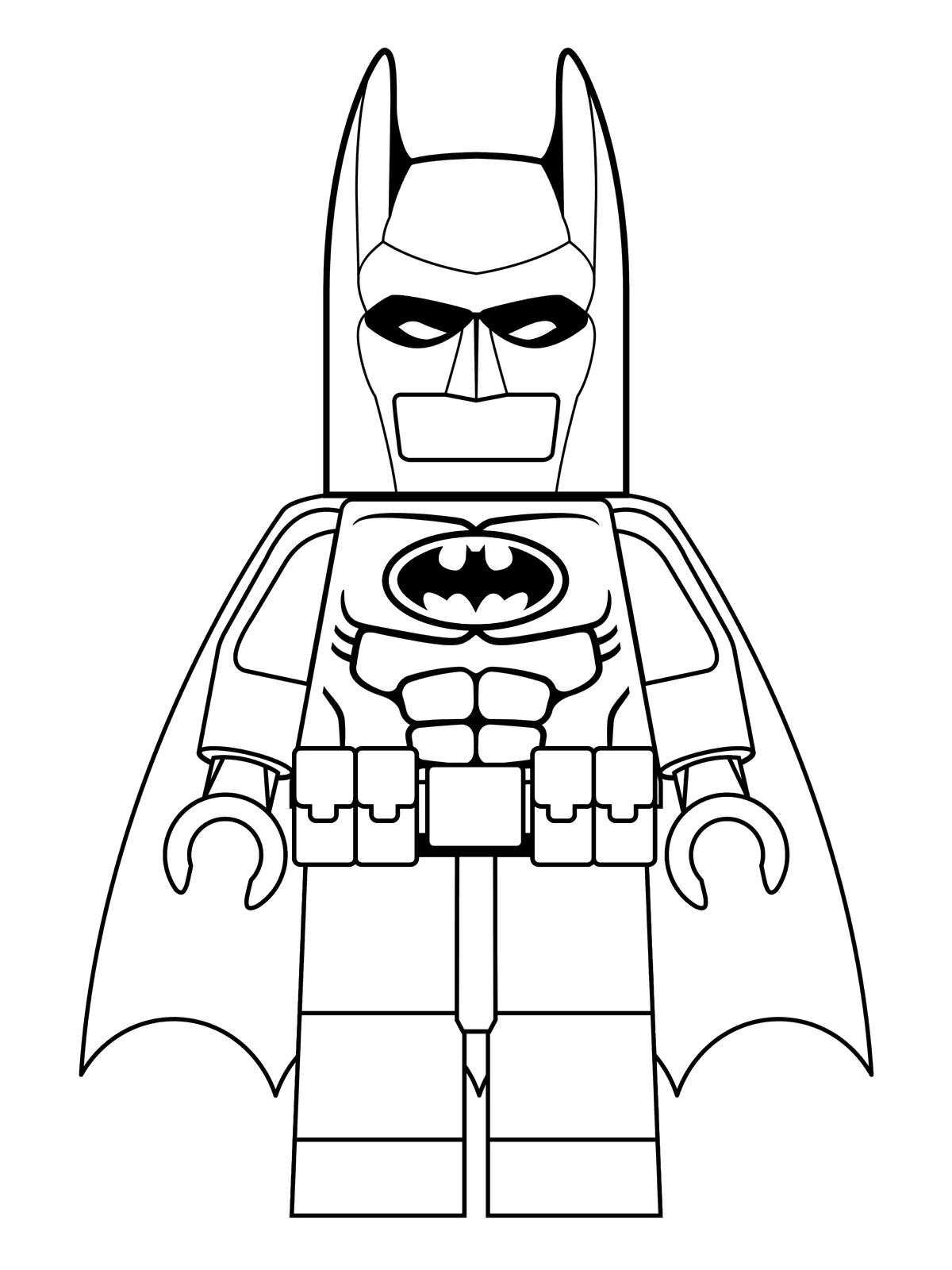 16 Coloring Pages Of Lego Batman Movie On Kids-n-funcouk
