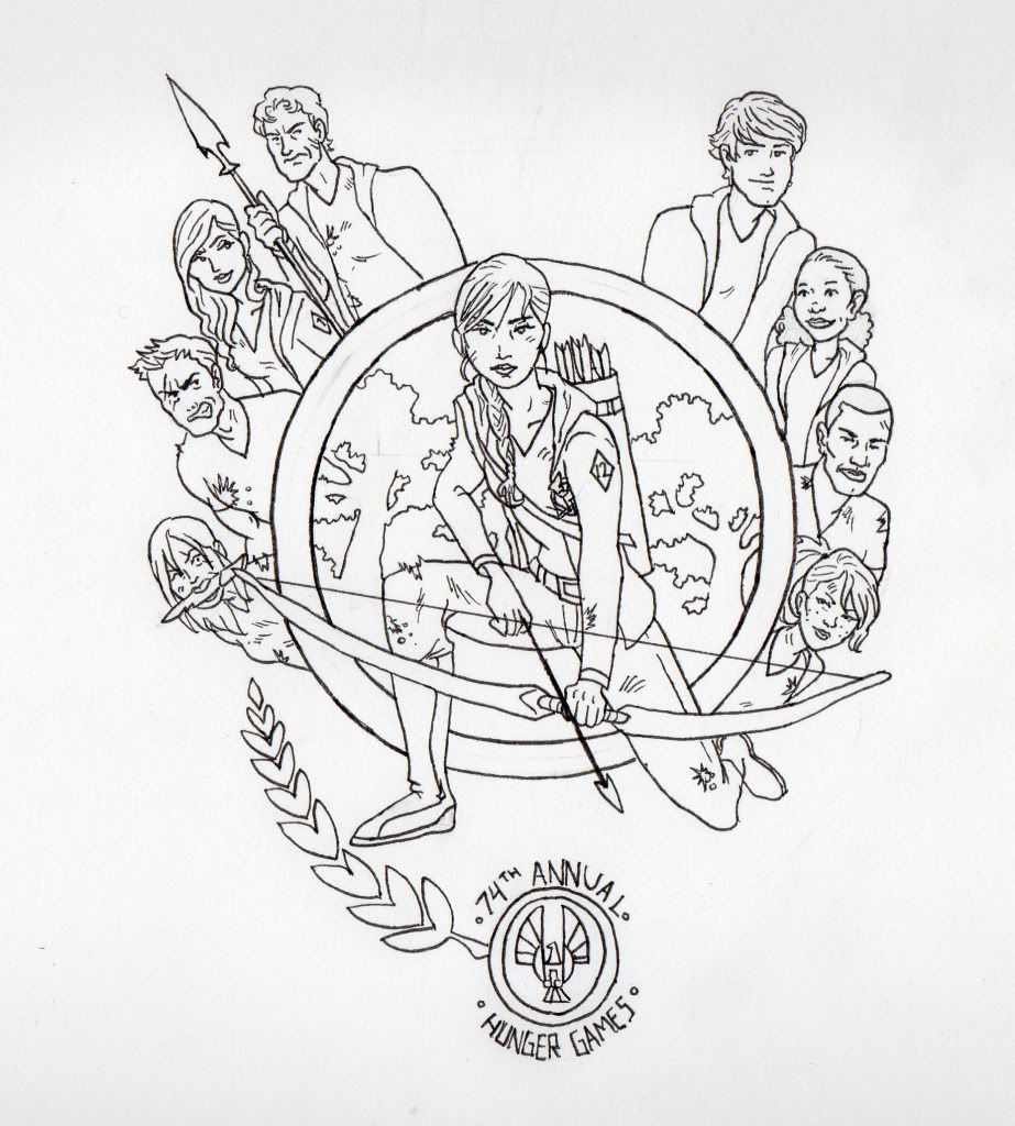 The Hunger Games Coloring Pages For Kids To Print | Coloring