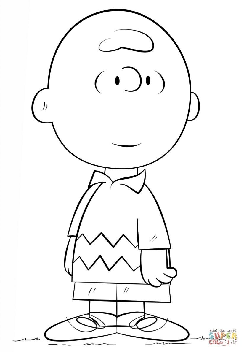 25+ Best Image Of Peanuts Coloring Pages | Charlie Brown