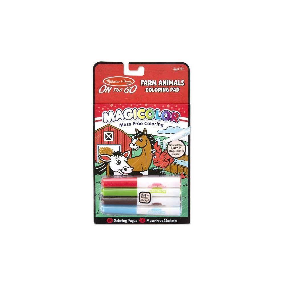 Magicolor Coloring Pad - Farm - (mixed Media Product