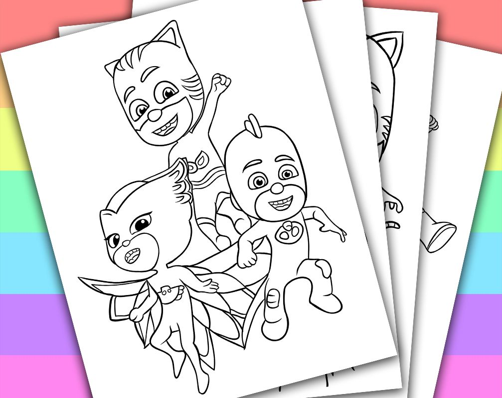 Digital - Instant Download Printable Coloring Page This