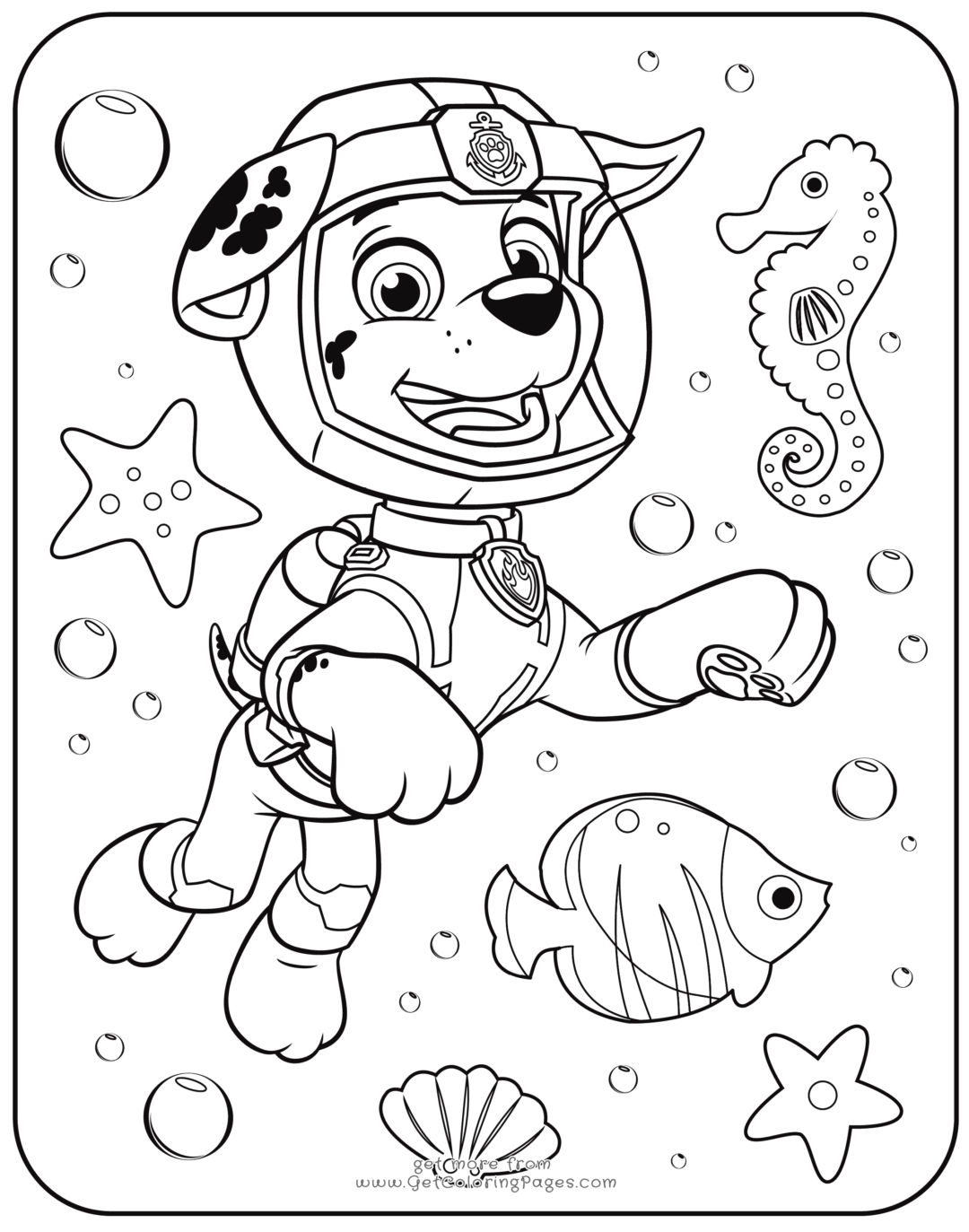 Paw Patrol Coloring Pages | Coloring Pages | Paw Patrol