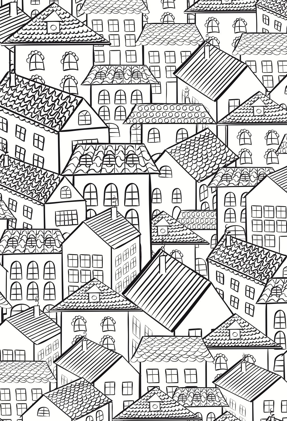 Colouring Books For Adults | Coloring Pages | House