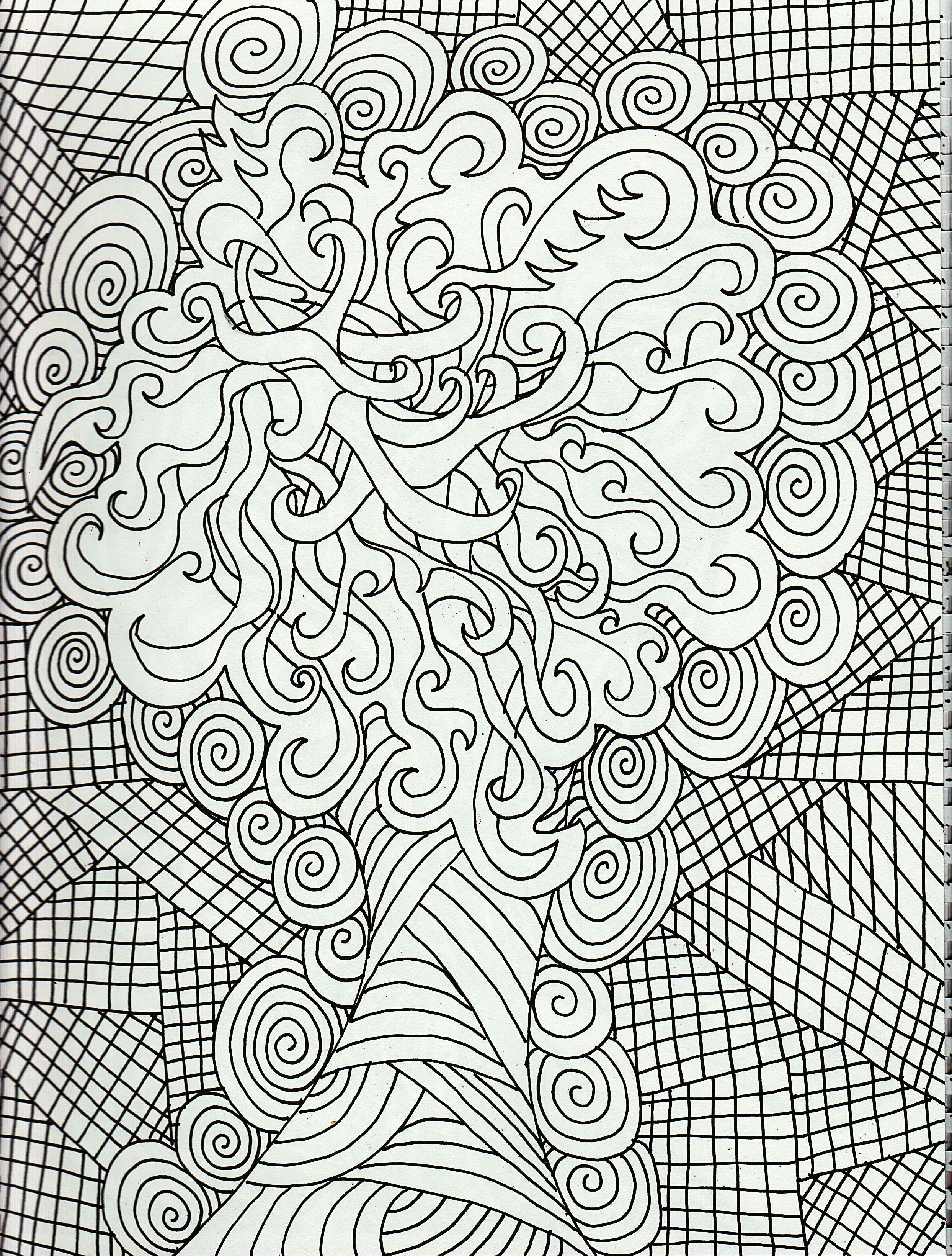 Coloring Pages For Adults - Free Large Images | Adult