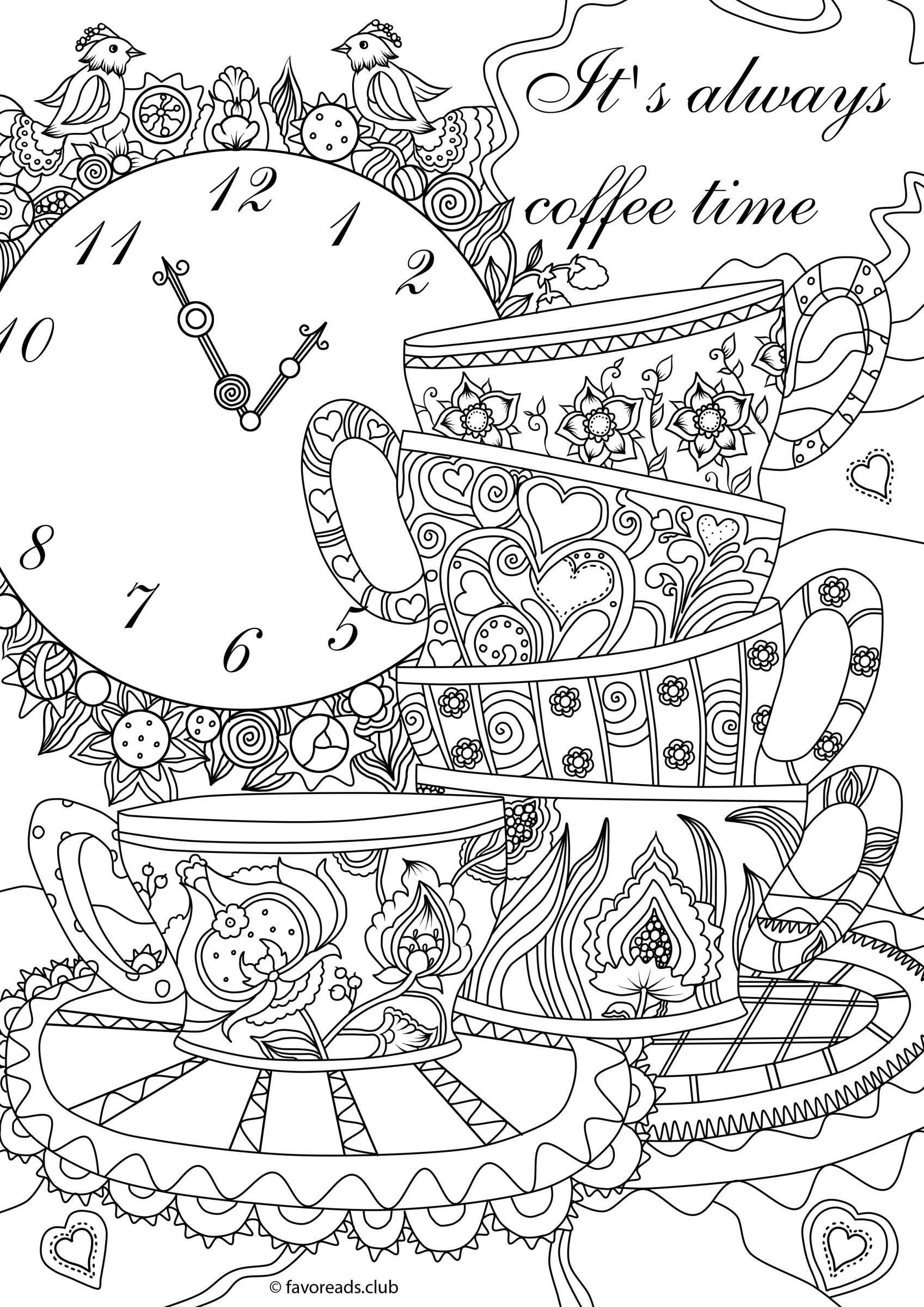 Pin De Renee Martin En Coloring For Adults | Coloring Pages