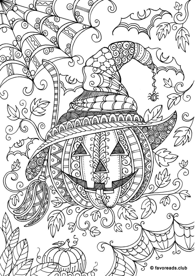Pin By Maighdlin Mccue On Coloring Pages | Halloween