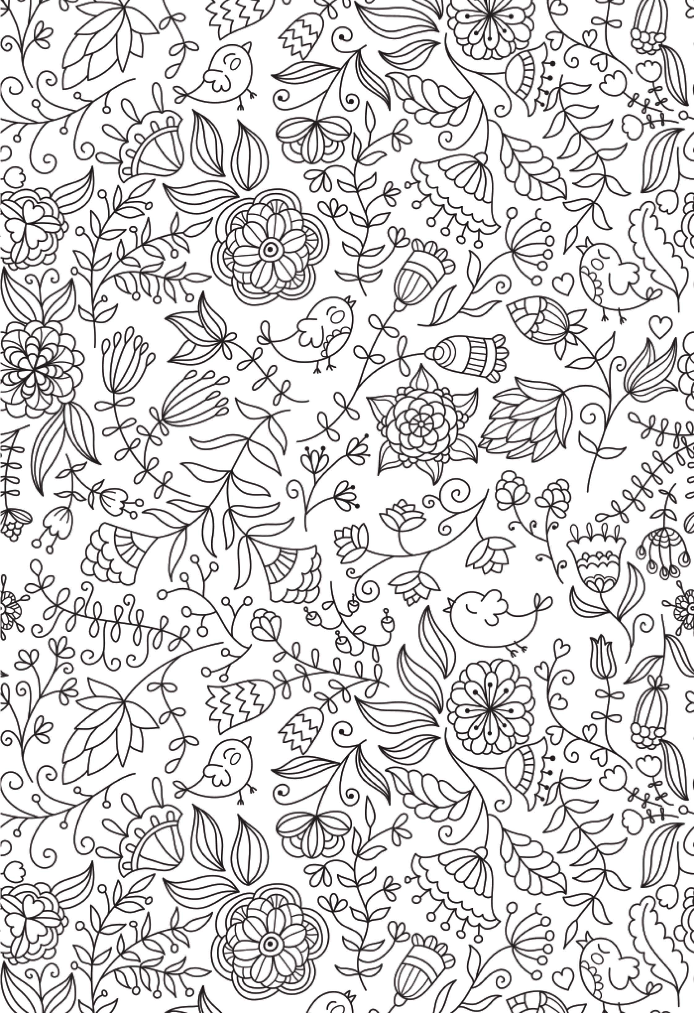 Free Colouring Pages For Adults To Help You Relax | Coloring