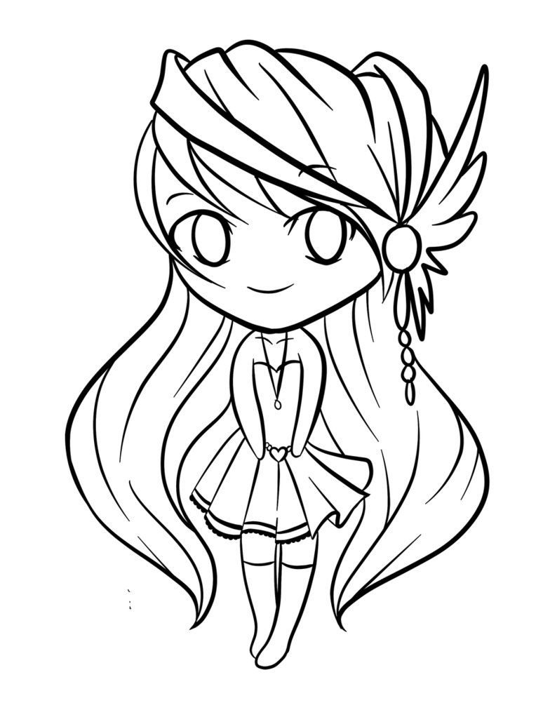 Cute-chibi-coloring-pages-675 | Coloring Pages