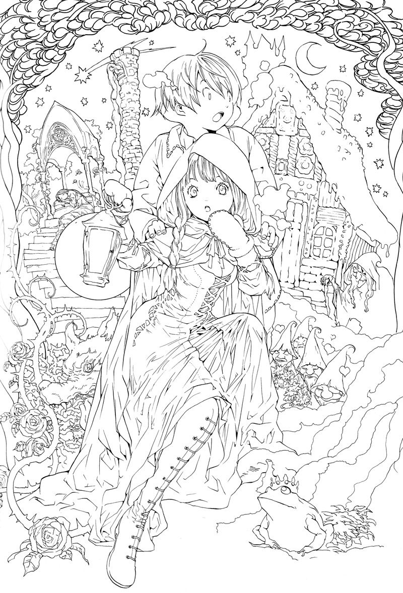 Bing Images Search Q Adult Fairies Coloring Pages Beautiful
