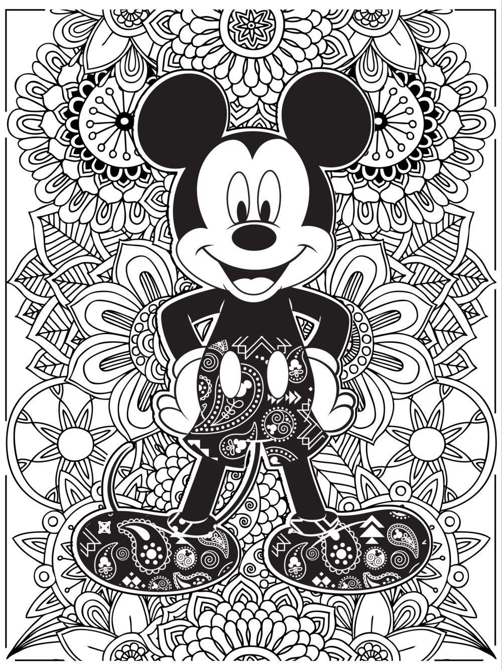 Pin By T Pelser Pelser On Voorblaaie | Disney Coloring