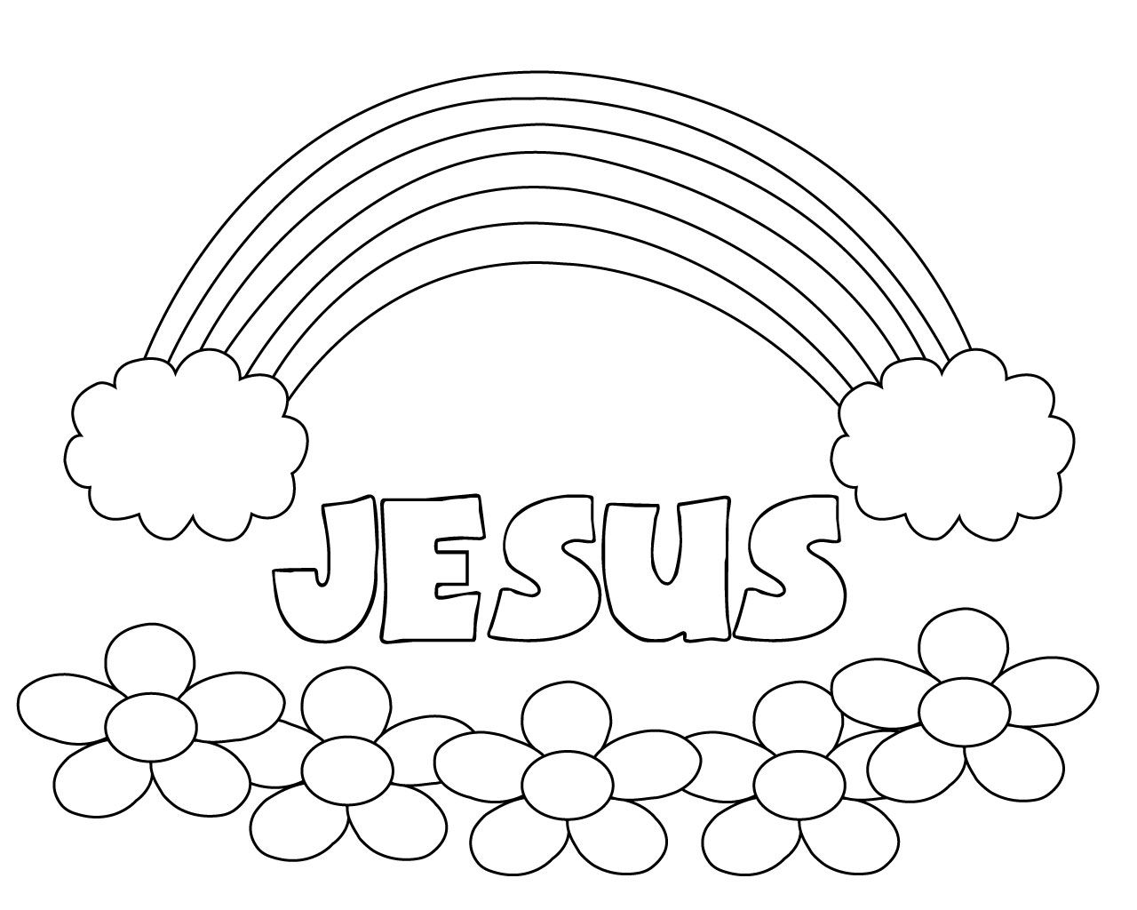 Bible Coloring Pages For Toddlers | Careersplay | Bible
