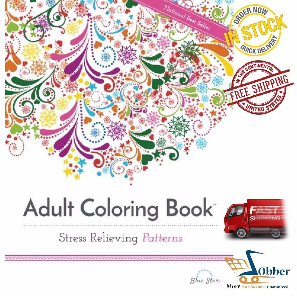 Adult Coloring Pages Stress Relieving Patterns Books