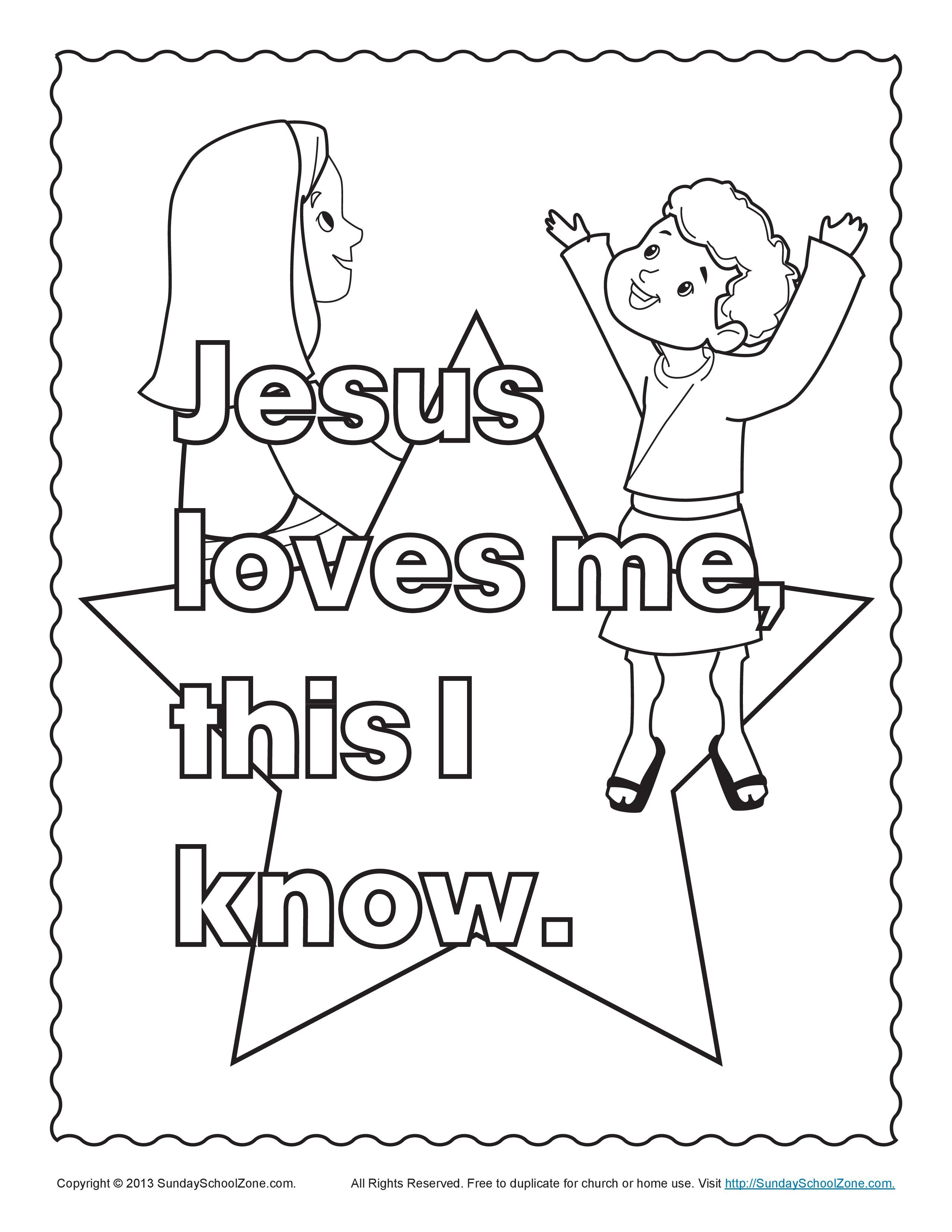 Bible Coloring Pages For Kids | Kids Worksheets | Sunday