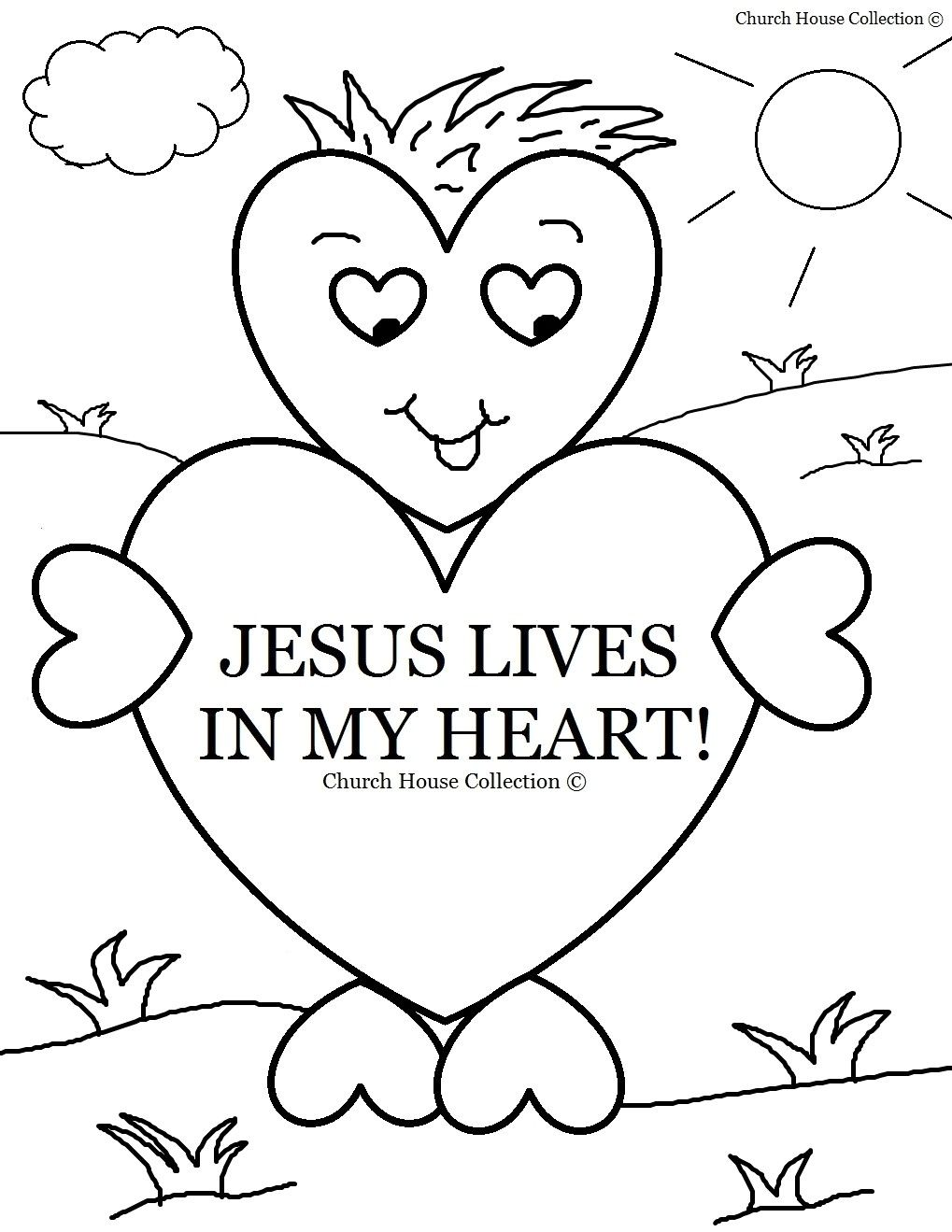 Free Bible Coloring Pages For Kids | Printable Coloring Page