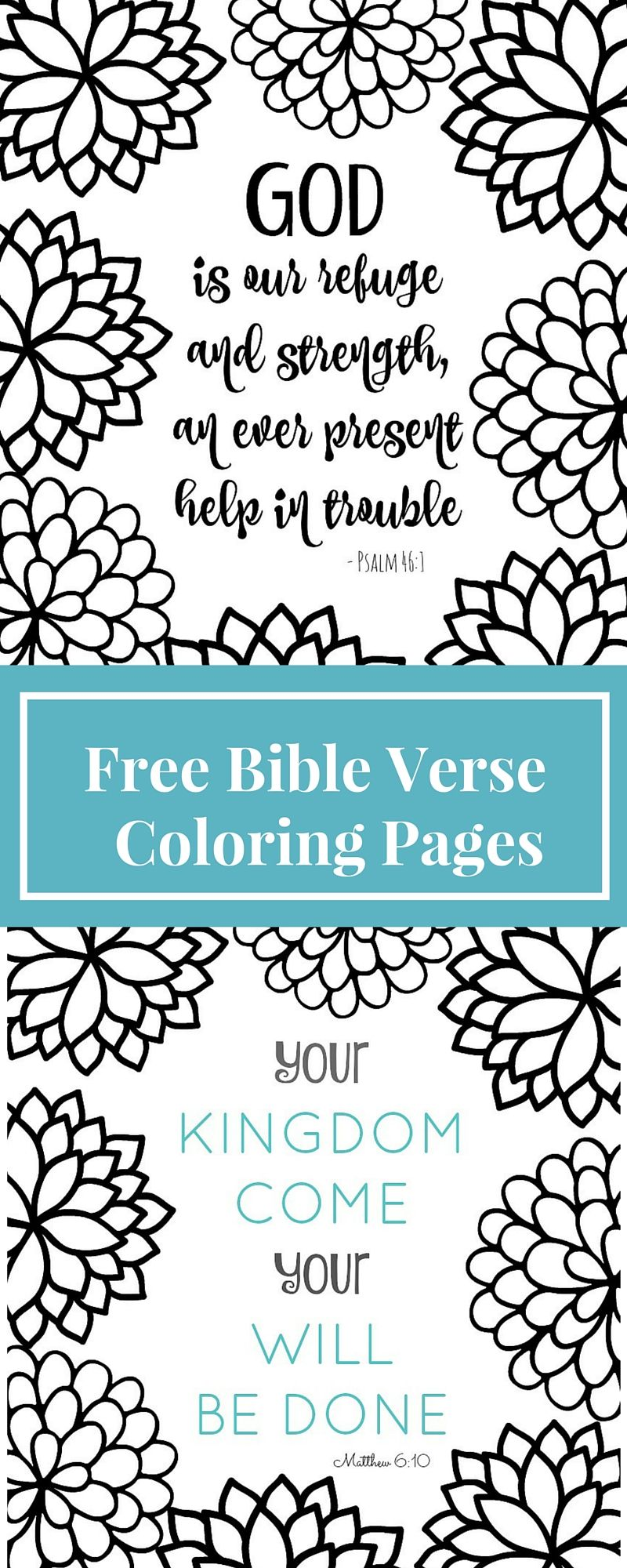 Coloring Pages Are For Grown Ups Now! These Bible Verse