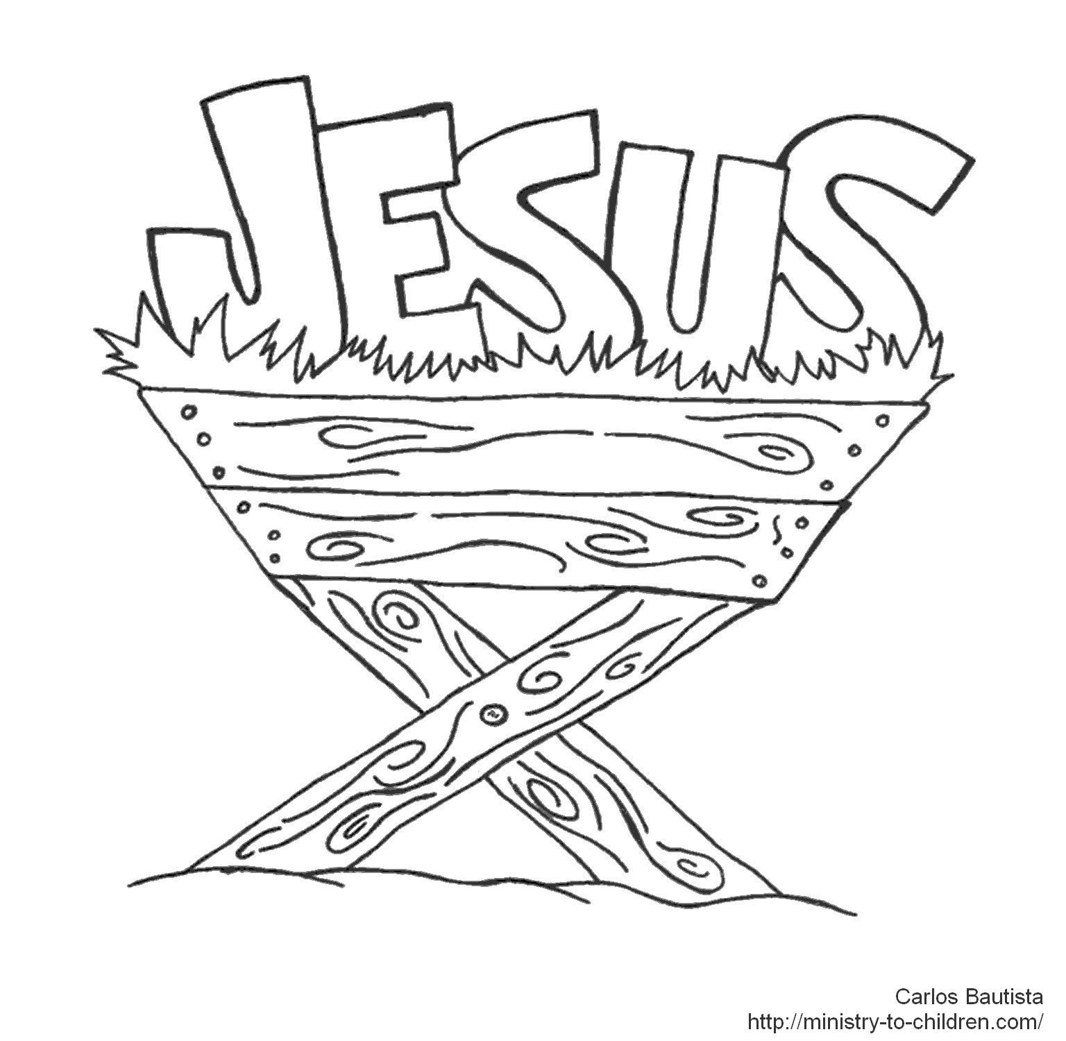 Pin By Cassie Larson On Swaps   Nativity Coloring Pages