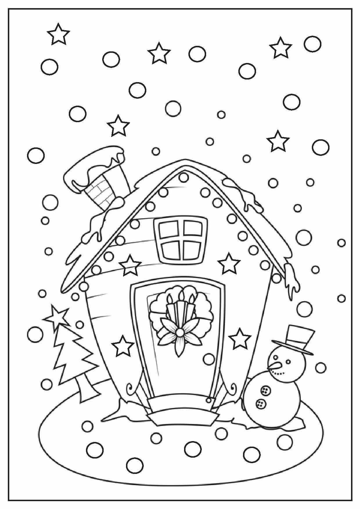 Christmas Coloring Pages Printable | Redwork Embroidery