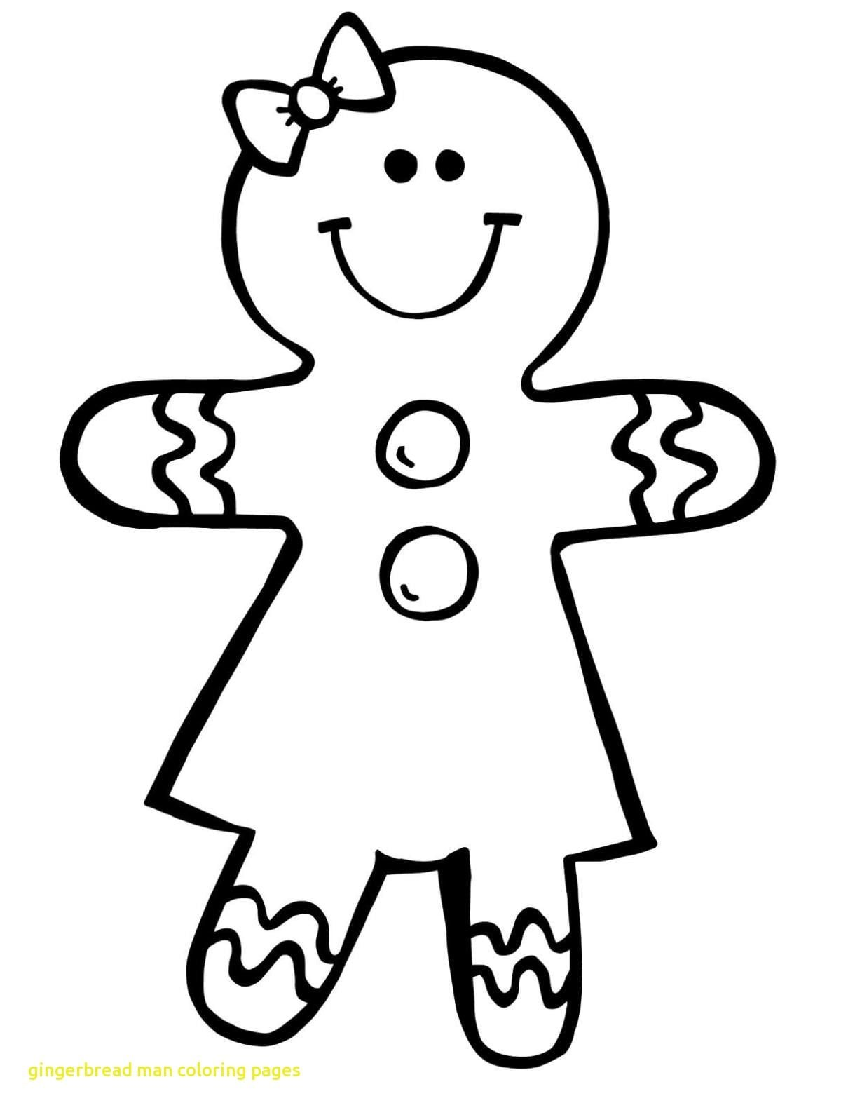 Gingerbread Man Coloring Page | Coloring Pages | Gingerbread