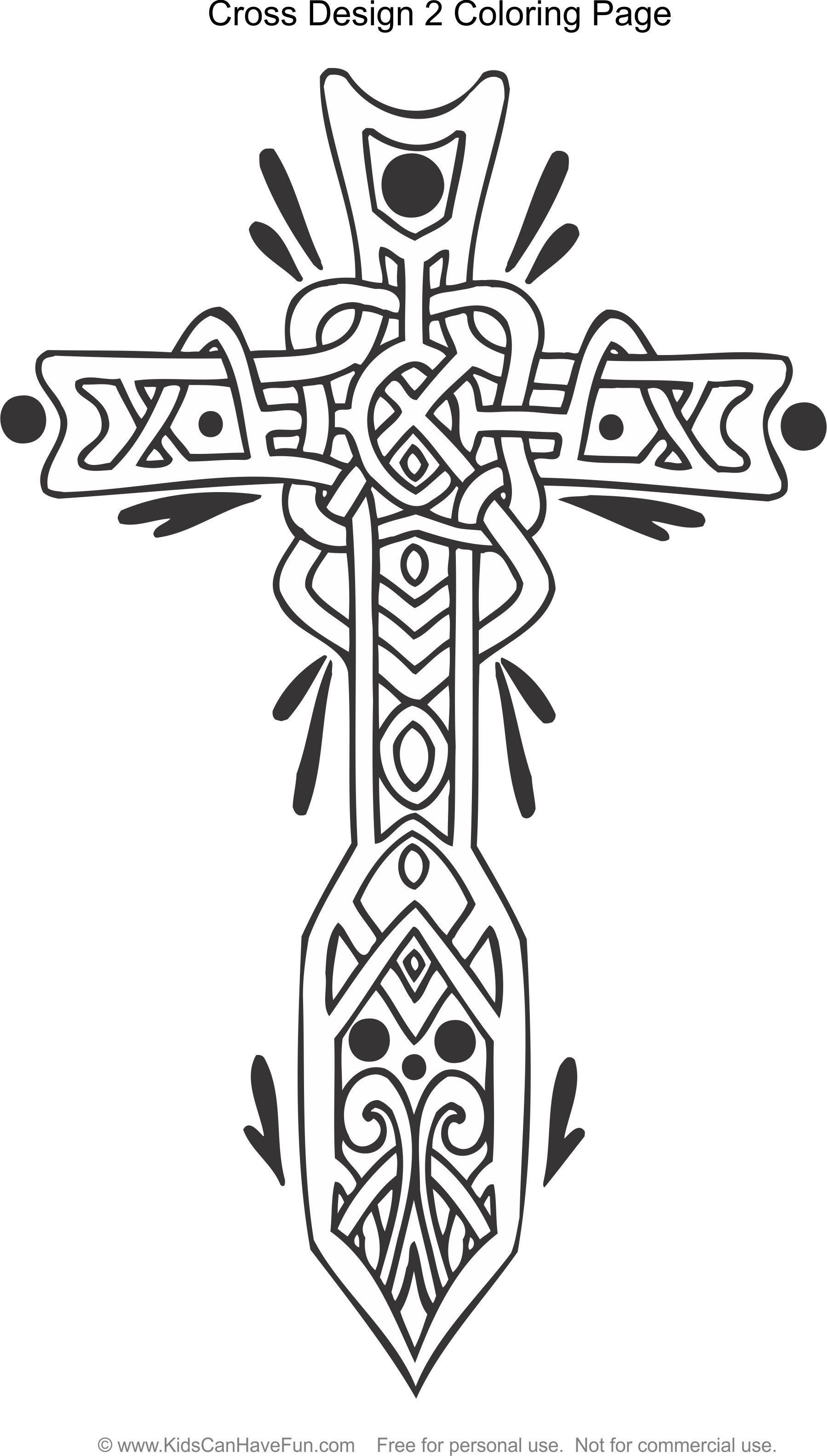Pin By Ginger Howe Isom On Celtic Coloring Pages | Cross