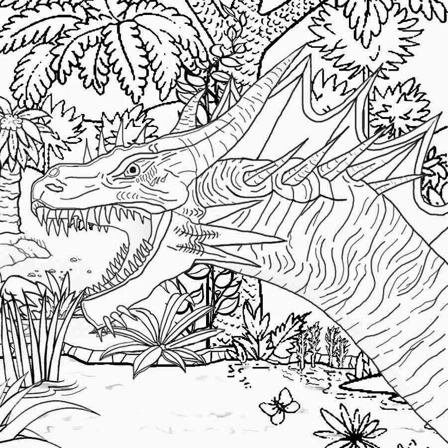 Girls Coloring Pages | Colorings | Dragon Coloring Page