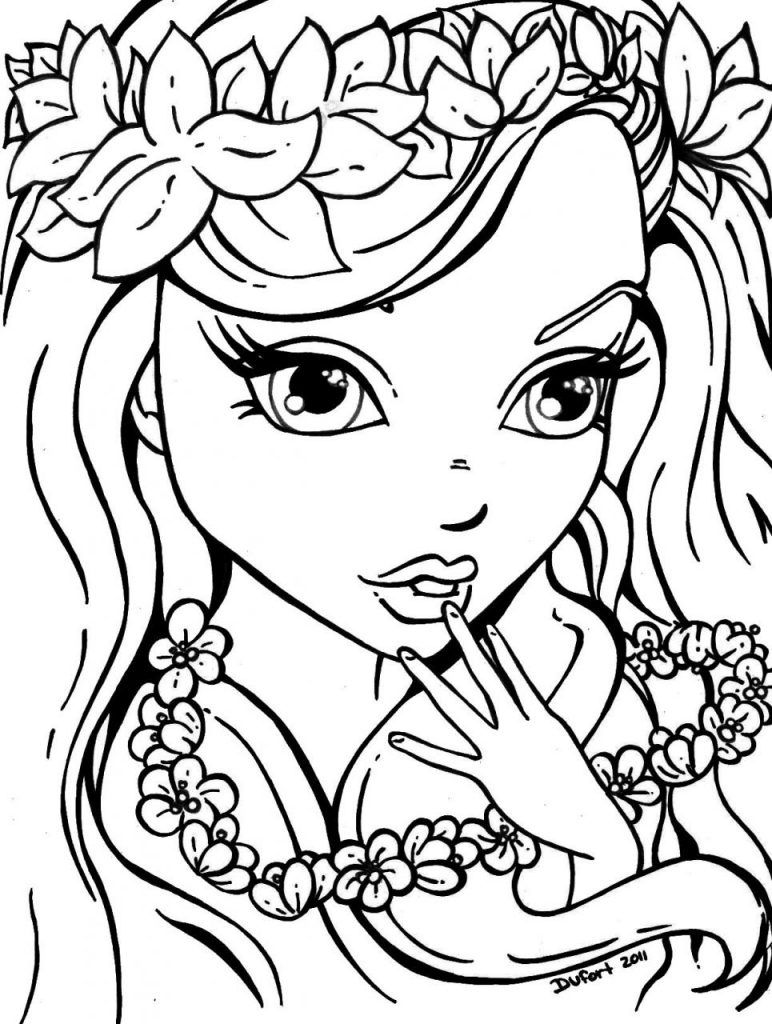 Coloring Pages For Girls | Coloring Pages - People