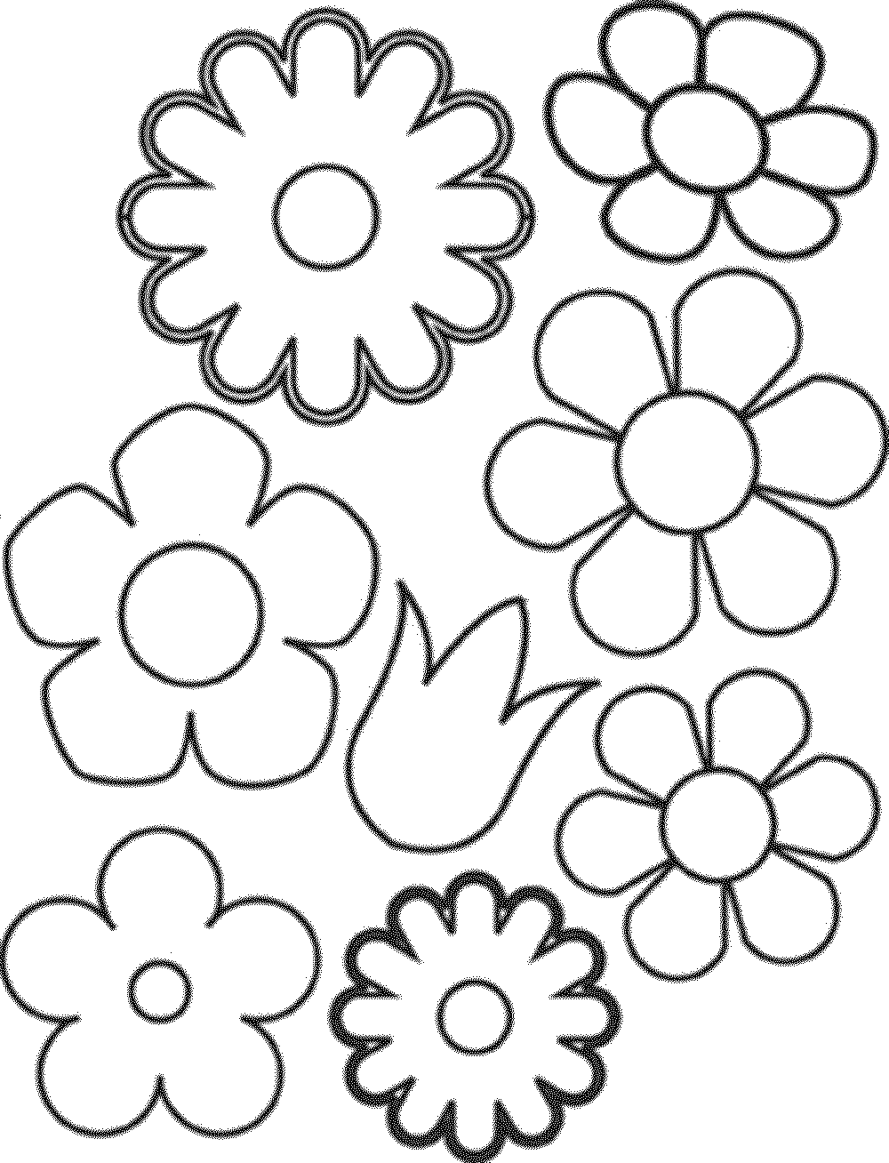 Flower Mandala Coloring Pages - Printable Kids Colouring