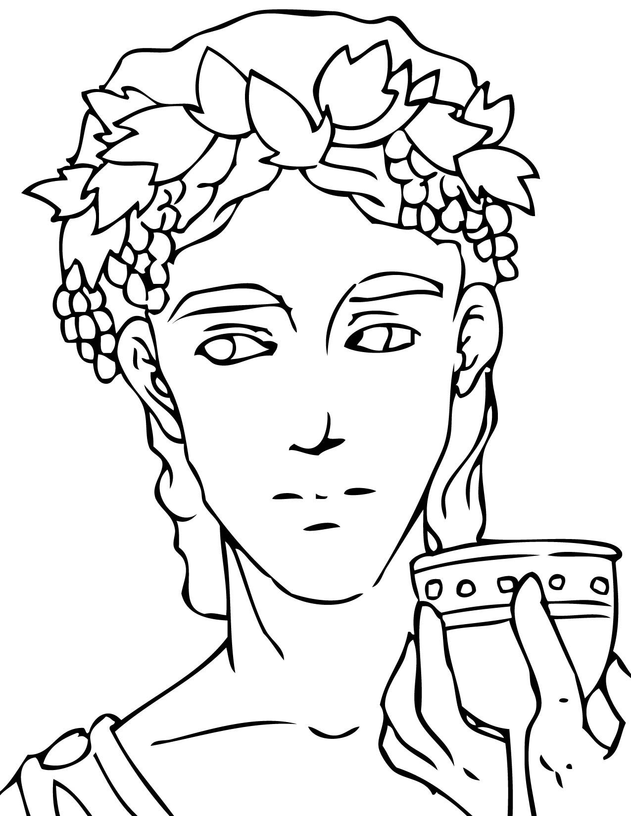 Pin By Zsa Zsa On Coloring Book | Greek Gods, Goddesses