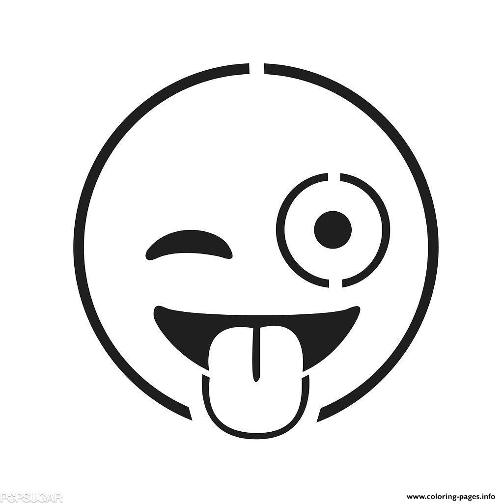 Print Emoji Faces Coloring Pages | Coloring Pages | Emoji