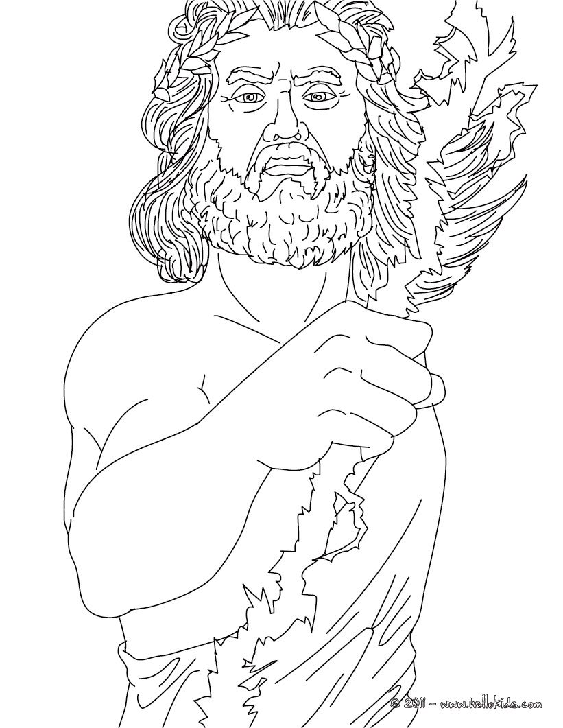 Coloring Pages Of Goddesses For Free | Can Color Online This