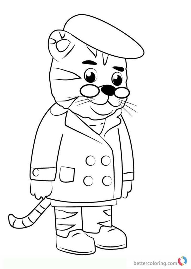 Daniel Tiger Coloring Pages Ideas For Kids   Coloring Pages