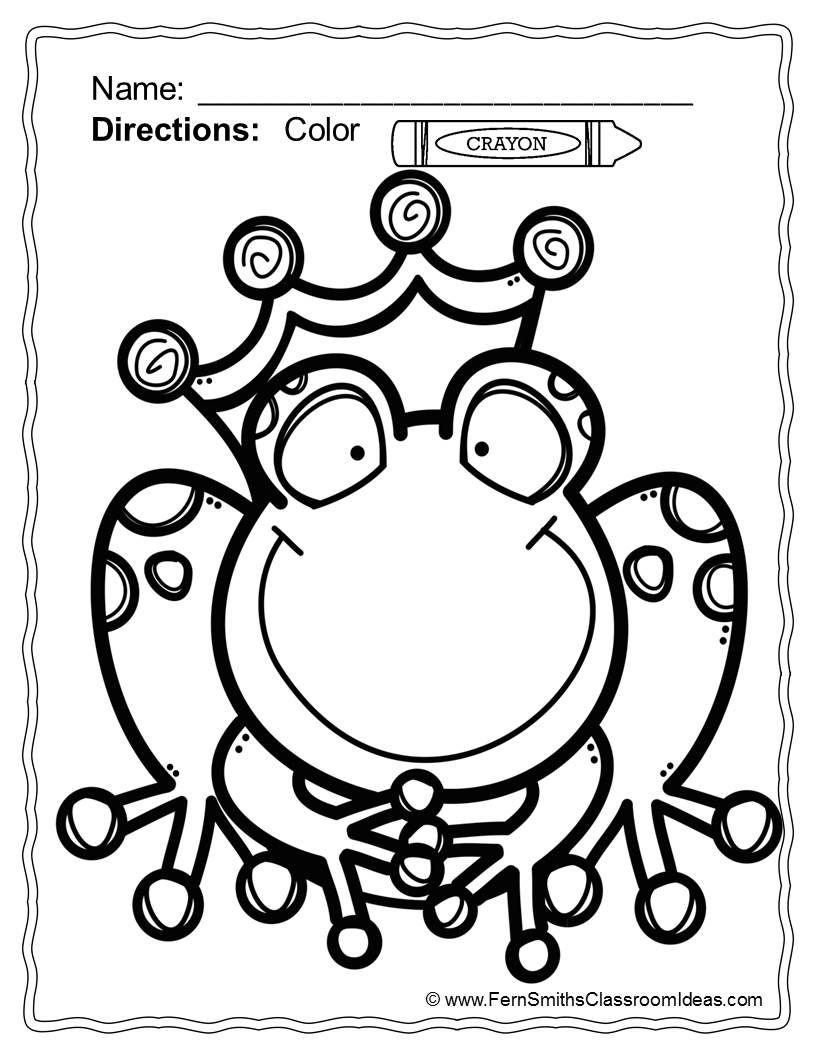 Fairy Tales Coloring Pages - 42 Pages Of Fairy Tale Fun   Z