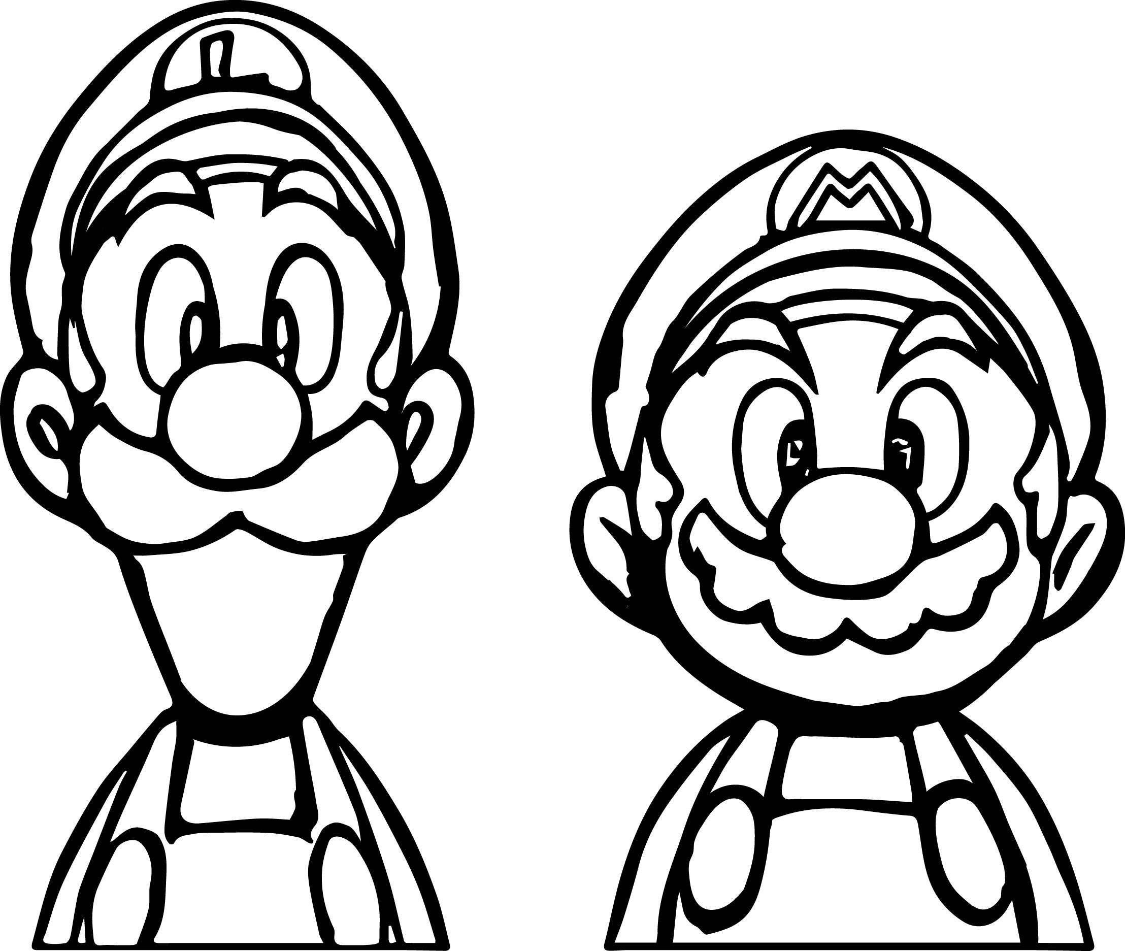 Super Mario Coloring Page Luxury Photos Mario Luigi Coloring