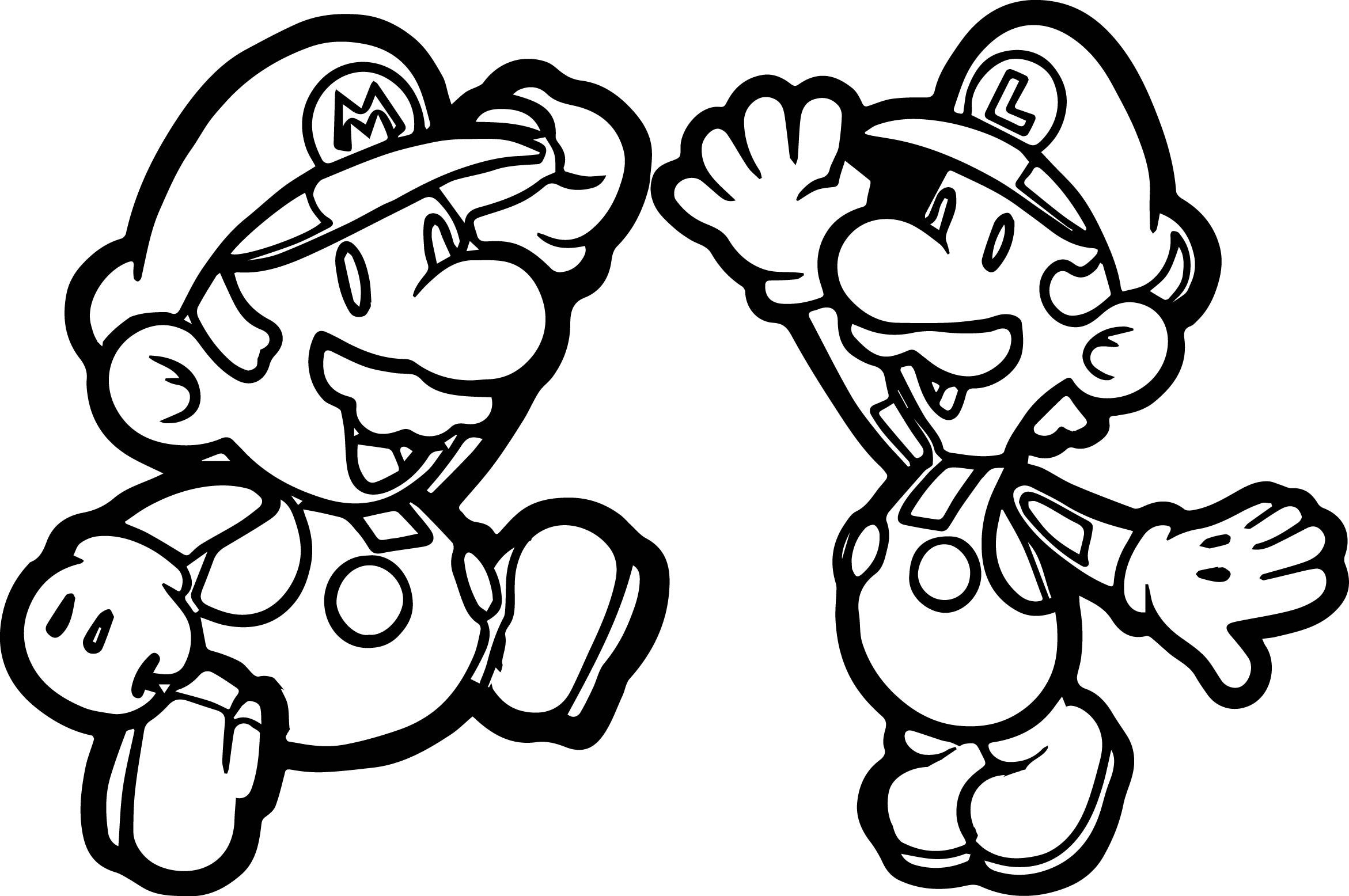 Awesome Super Mario Brothers Super Mario Fly Coloring Page