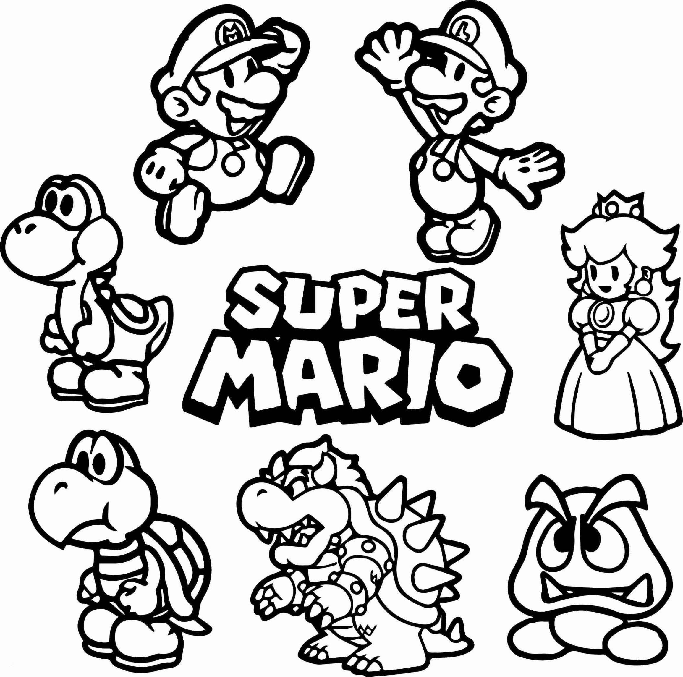 Pin By David Solorzano On Draw | Mario Coloring Pages, Super