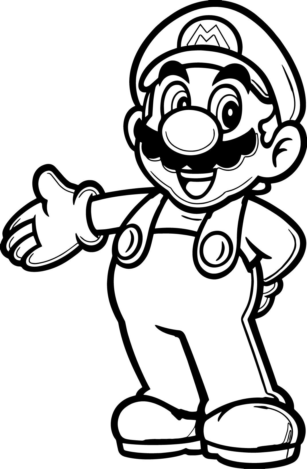 20 Populer Cartoon Coloring Pages | Cakes ! | Mario Coloring